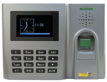 WaspTime Time & Attendance Biometric Clock
