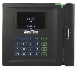 WaspTime Time & Attendance Barcode Clock