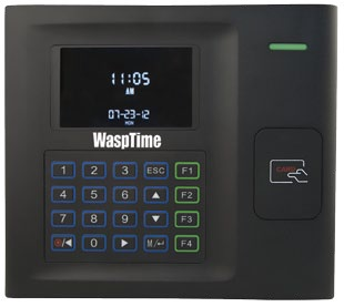 WaspTime Time & Attendance RFID Clock