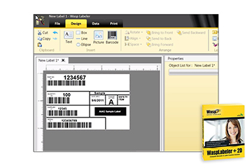 Wasp Barcode Label Design Software