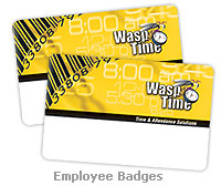 WaspTime Time & Attendance User Cards